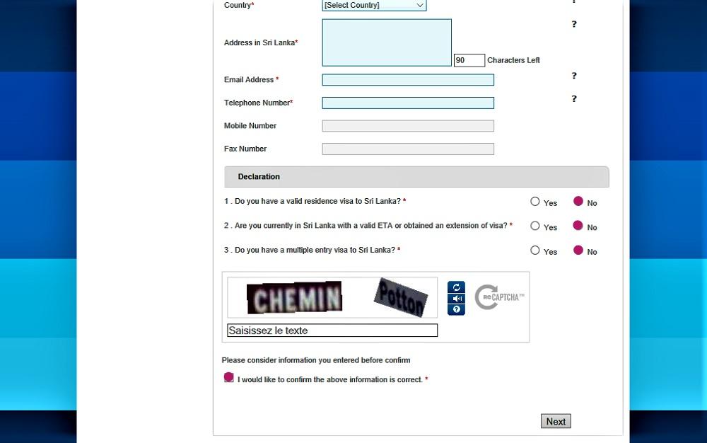 formulaire_eta_sri_lanka